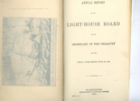 Annual Report of the Lighthouse Board to the Secretary of the Treasury for the Fiscal Year ended June 30, 1884.