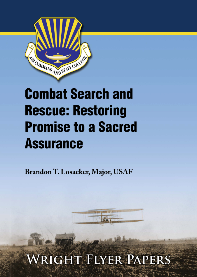 Combat Search and Rescue: Restoring Promise to a Sacred Assurance