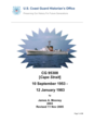 A memoir and history of the USCGC Cape Strait (WPB 95308) written by former crewman James A. Mooney. His memoir contains a wealth of history of the men he served with and what it was like to serve on a Coast Guard 95-foot patrol boat.