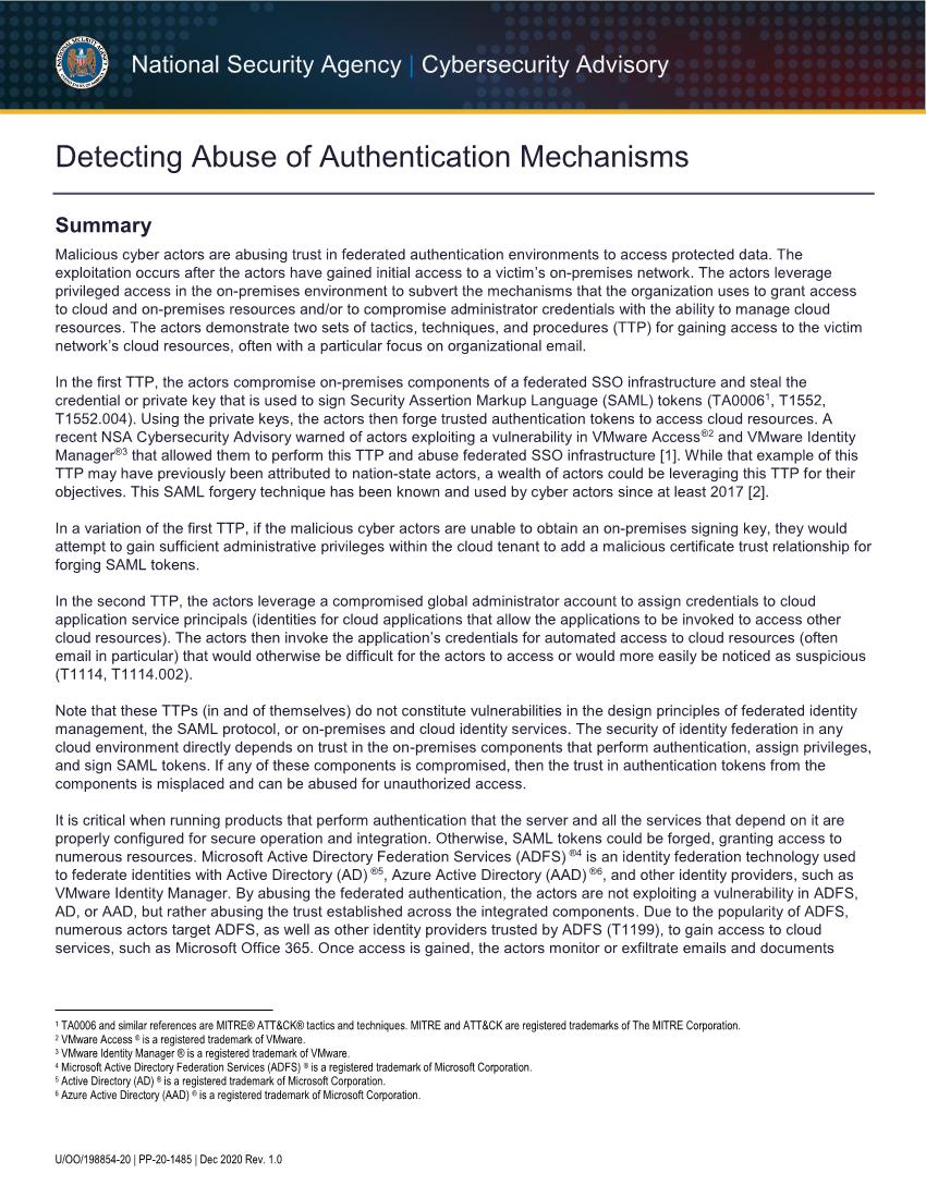 AUTHENTICATION_MECHANISMS_CSA_U_OO_198854_20.PDF