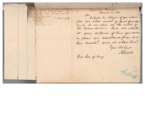 A letter from President Abraham Lincoln to Secretary of the Navy Gideon Welles asking about moving Navy vessels under Revenue Cutter Service control, 1861