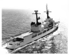 A pdf scan of a photo of USCGC CHASE (stern view) underway at sea.
