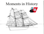 "Moments in CG History from 1790-1990, a publication in commemoration of the 200th Anniversary of the ""Birth"" of the Coast Guard."