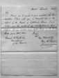 A report written by Winslow Lewis listing each lighthouse keeper along with their salaries.  Report is dated September, 1815.  Report was sent to Samuel Smith, Esquire, Commissioner of the Revenue.