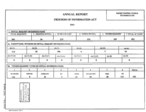 FOIA report for Fiscal Year 2003