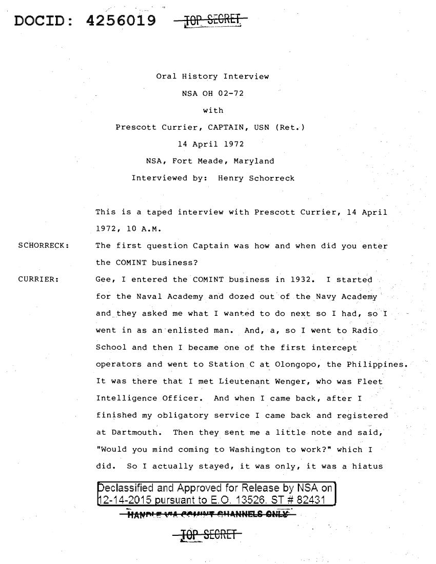 NSA-OH-02-72-CURRIER.PDF
