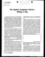 Spring 1981 - Vol. 11, No. 2