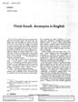 Fall 1974 - Vol. 4, No. 5