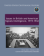 Issues in British and American Signals Intelligence 1919-1932